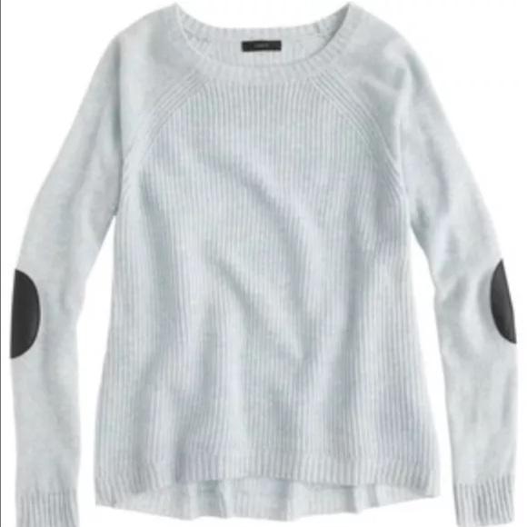 Jcrew Sweaters Jcrew Womens Elbow Patch Sweater Poshmark