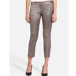 The Limited Pants - Limited Metallic Houndstooth Cassidy Pants