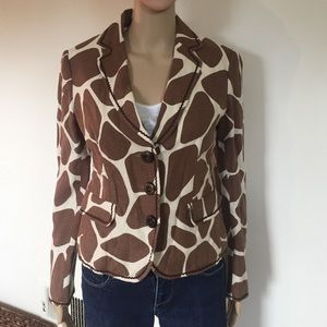 Moschino Jackets & Blazers - Moschino Cheapandchic giraffe print Blazer 10