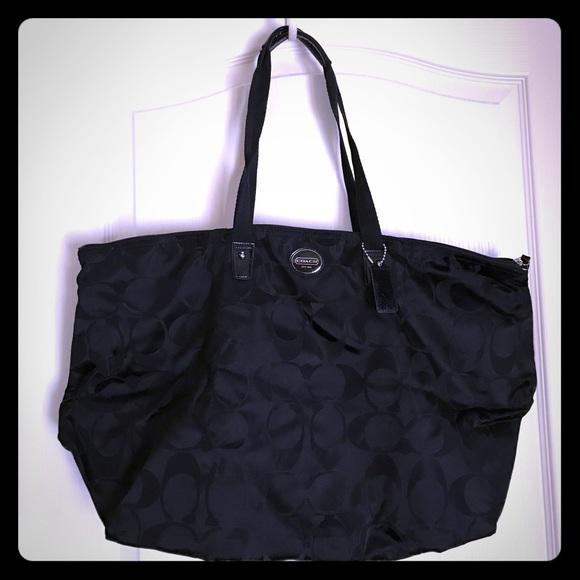 2b20e206f6 Coach Handbags - Convertible packable Weekend Overnight Tote Bag
