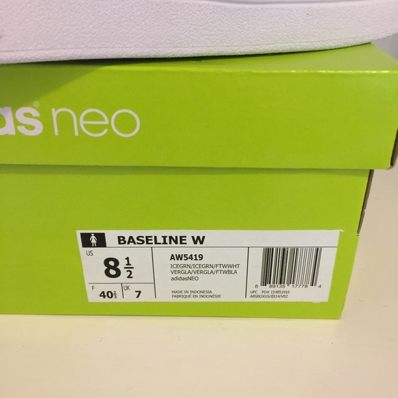 Adidas Neo Baseline Ice Green
