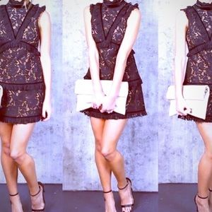 Dresses & Skirts - Vici black lace dress