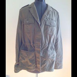 Jackets & Blazers - Green Utility Jacket