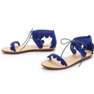 Loeffler Randall Shoes - Loeffler Randall Scalloped Sandals