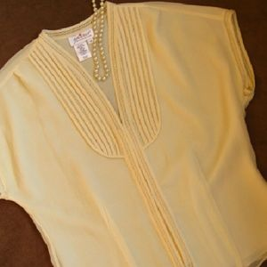 Lacy Silk Blouse from Coldwater Creek