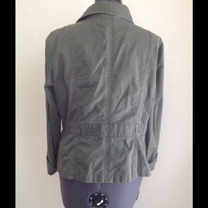 Ann Taylor Jackets & Coats - Ann Taylor Loft Olive Green Utility Jacket