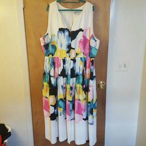 Color Blot Dress