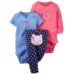 Carter's Other - NWT Carter's Baby Girl Little Layette - 6 Months
