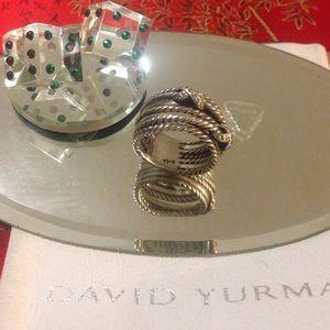 David Yurman Jewelry - David Yurman authentic vintage ring with diamonds