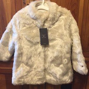 Tommy Hilfiger Other - Tommy Hilfiger Fur Long Coat for Toddlers