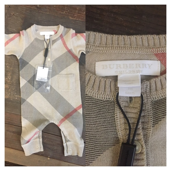 9ddbd083f Burberry One Pieces | Cashmere Baby Romper | Poshmark