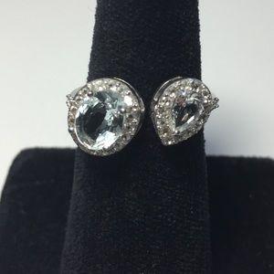 Treasures of Thailand  Jewelry - FINAL SALES PRICE💎Aquamarine & Topaz Double Ring
