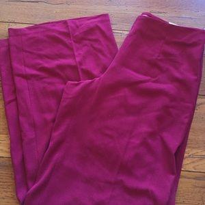 Ellen Tracy Linda wide leg curvy fit pants 8