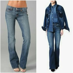 7 For All Mankind Denim - 7 for all mankind  wide leg jeans.