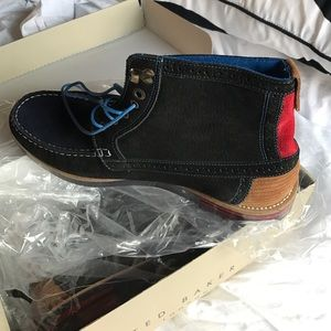 Ted Baker boots blue