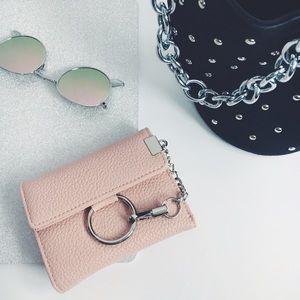 Handbags - 🆕 Kyndall Pink O Ring Buckle Wallet