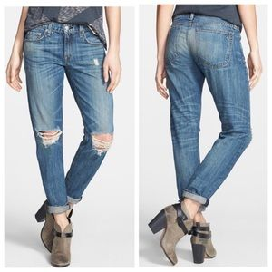 rag & bone Denim - rag & bone/JEAN Boyfriend Jeans (Buckley)