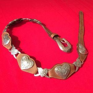 Tony Lama Accessories - Tony Lama Brown Belt