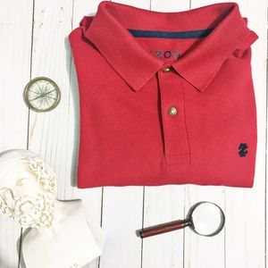 Izod Other - IZOD Red Men's Polo Shirt
