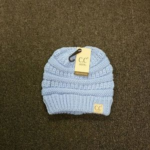 Other - NWT CC Kids Ages 2-6 Beanie Hat Lt Blue