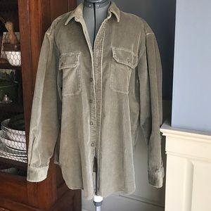 Filson Other - CC Filson wide corduroy jacket shirt Large olive