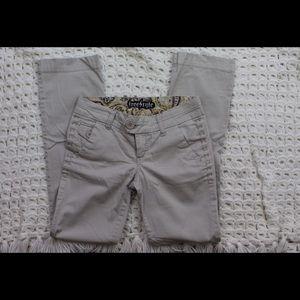 Freestyle Pants - Light khaki/white pants