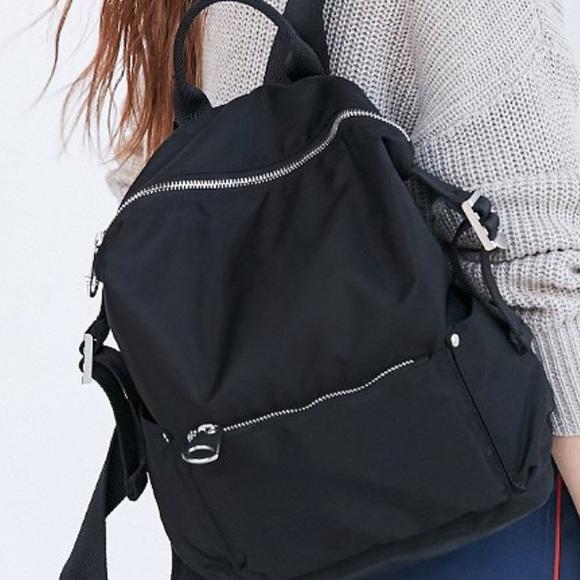 f1f77363d7b ❤️NWT urban outfitters mini nylon black backpack