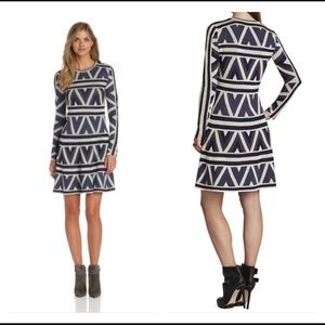 BCBGMaxAzria Dresses & Skirts - 🆕BCBGMaxAzria Aztec knit sweater dress