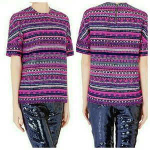 sass & bide Tops - sass & bide 8 bit generation Pink Oversized knit 2