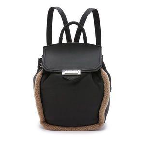 Alexander Wang Handbags - Alexander Wang Shearling Prisma Backpack