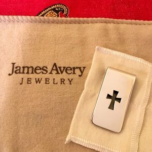 James Avery Jewelry - James Avery Sterling Silver Cross Money Clip