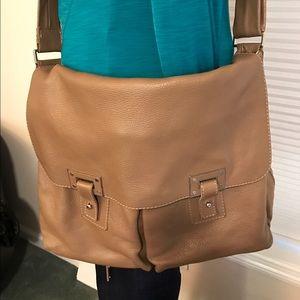 Orciani Other - Orciani large unisex leather messenger bag