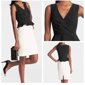 Ann Taylor Dresses & Skirts - Anne Taylor Double Vision Peplum Dress