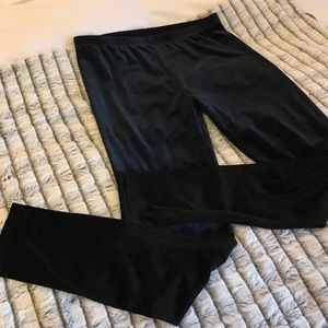 Jessica Simpson velvet leggings
