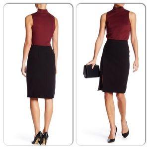 Catherine Malandrino Black Midi Skirt 8