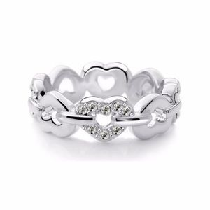 Hearts Stainless Steel Ring