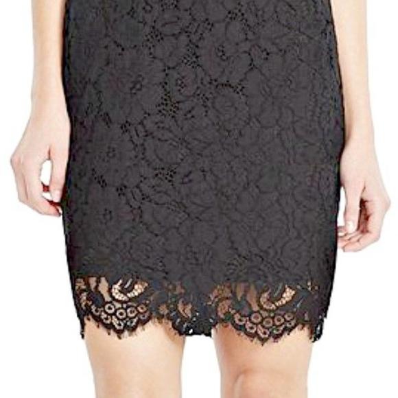 Lauren Ralph Lauren Dresses - Lauren Ralph Lauren lace contrast collar Dress
