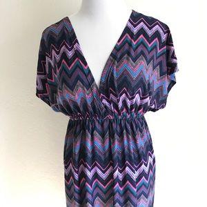 Christina Love Dresses & Skirts - CHRISTINA LOVE V Neck Empire Waist Dress