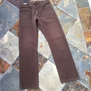 Levi's Other - 514 Levi Brown Pants