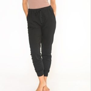 Soft material jogger pants