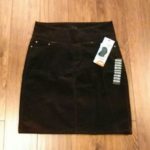 Jag Jeans Dresses & Skirts - NWT Jag Brown Corduroy Skirt Size 4