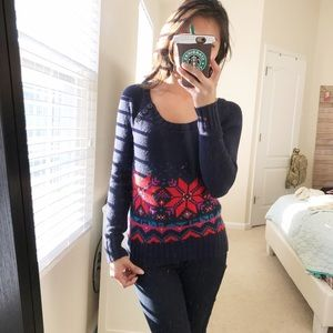 Garage Sweaters - Garage blue knitted sweater