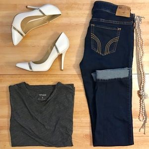 Hollister Denim - Hollister Dark Skinny Jeans