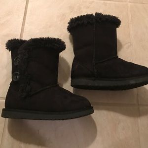 Toddler size 10 black boots