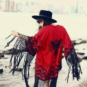 Spell & The Gypsy Collective Sweaters - RARE ❤ SPELL & THE GYPSY COLLECTIVE OPIUM KIMONO