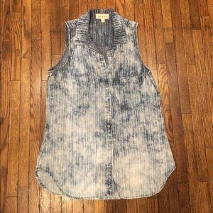 Cloth + Stone chambray top