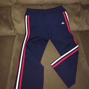 Adidas Pants - Adidas Crops Size Medium