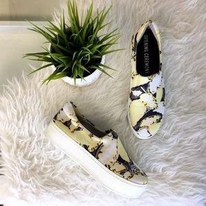 Opening Ceremony Shoes - Opening Ceremony Floral Platform Sneakers