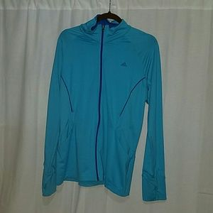 Adidas ClimaLite track jacket size XL
