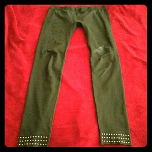 Pants - BLACK LEGGING